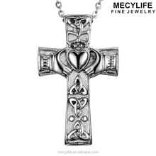 MECYLIFE Hot selling stainless steel pet ash urn necklace jewelry