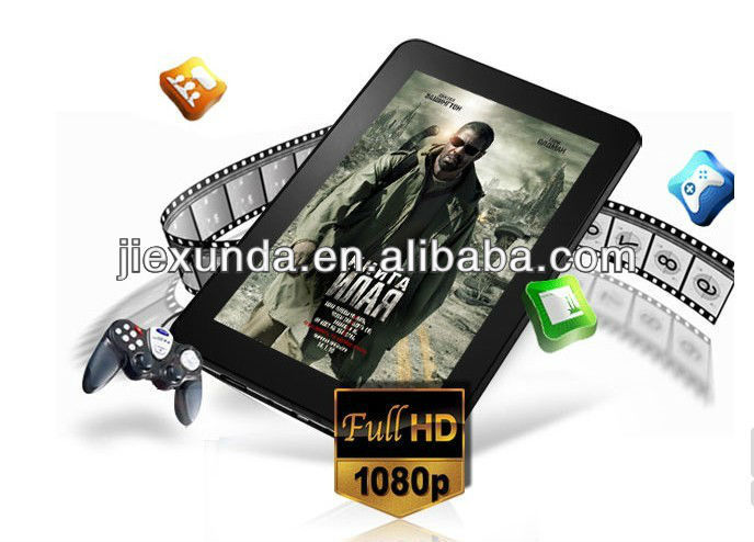 In stock Cube U25GT 7inch android 4.1 tablet PC 512RAM 8GB ROM RockChip RK2928 1.0GHz 5 Point Capacitive Screen