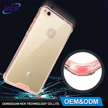 2017 Free sample MOQ=100pcs cell phone full cover tpu custom for huawei p8 lite case