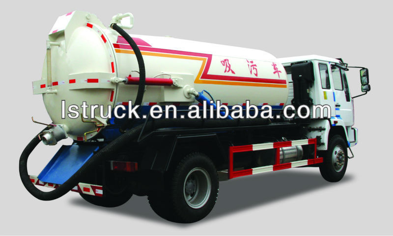 sewage suction trucks,Pollution car vacuum pump,Clean up wastewater