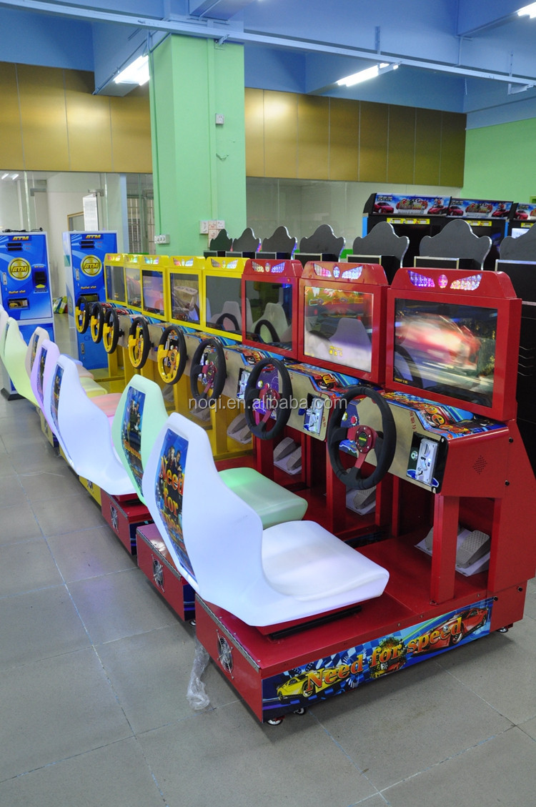 kids racing machine arcade amusement kids game machine car racing game machine for sales