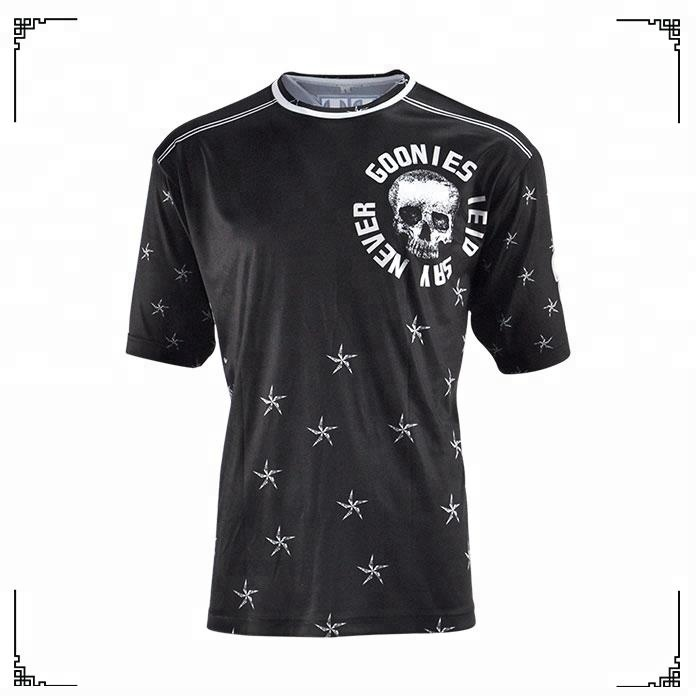 100% Polyester Design Printing Dry Fit Mens Baseball Jersey