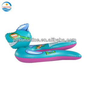 Kids & promotion advertising Inflatable dragon swimming ring toy
