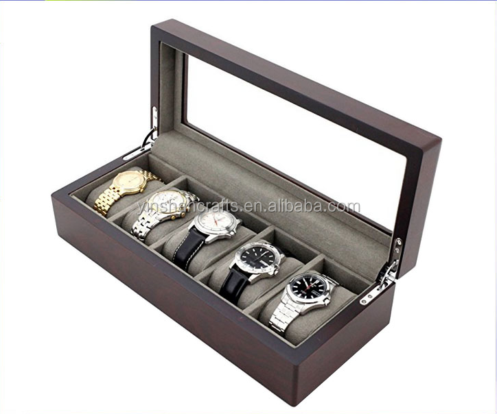 Factory-made High-end Wooden Watch Box / Wood Carton / Custom Jewelry Box Wholesale Spot