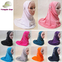 muslim hijab cap Popular Latest Hot Women Hijab Islamic Chiffon Instant Scarf Malaysia jewelled hijab