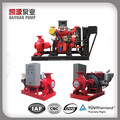 XBC XBD Series electric or diesel engine driven centrifugal fire fighting water pump