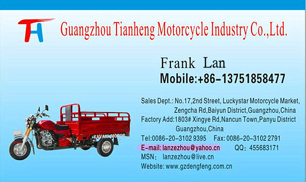 New design 200CC&150CC White close-box cargo tricycle KV200ZH-G Factory direct sales Three wheel motorcyle