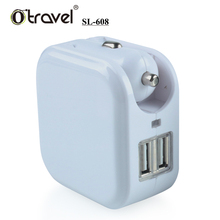 Otravel 2017 customized dual USB output power 5V 1A or 2.1A mobile usb car charger