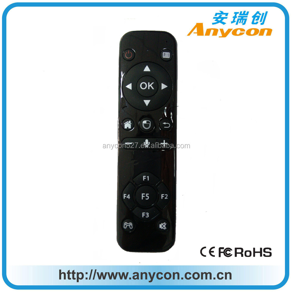 air mouse remote control wireless air mouse keyboard for smart tv, mini projector,4.0 bluetooth remote control