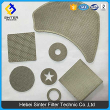 Silver Galvanized Sintered Mesh Barbecue Crimped Wire Mesh