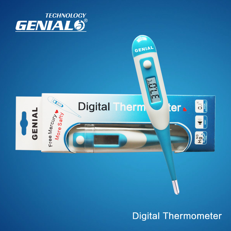 Wholesale price Flexible digital thermometer with fast reading LCD with CE certificate