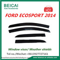 Weather Shields Window Visor Weathershields Weather Shields for ECO SPORT 2014 Window Visors
