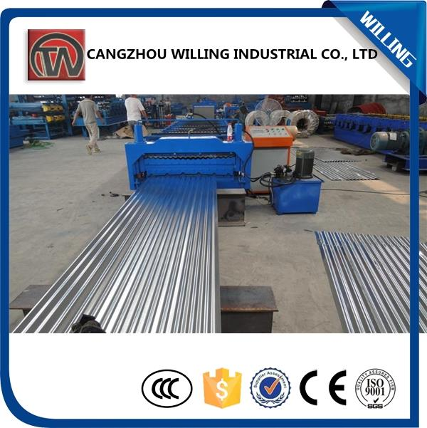 aluminum roof tile roll forming machine with low price