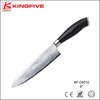 2016 New 8 inch Damascus steel chef damascus kitchen knife 430+Pakka Wood handle with Wooden Box