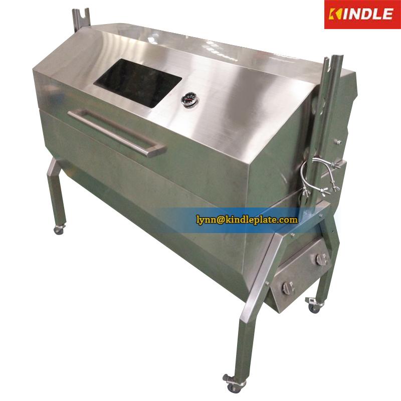 rotisserie machine for pig