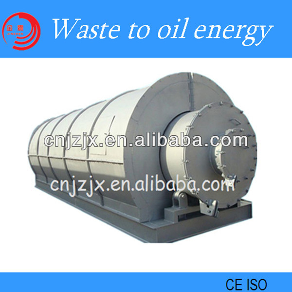 100% Environmental and Higher Quality Waste Tire Pyrolysis Equipment to Fuel Oil/ Carbon Black