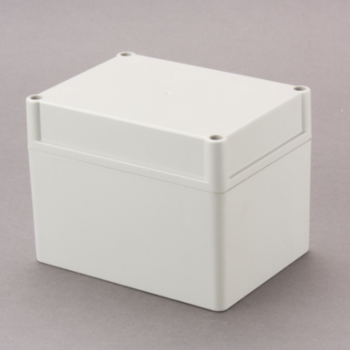 waterproof junction box 105*105*140mm Sealed Plastic Enclosure with wall mounted edge