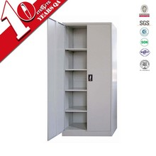 High gloss specific use steel office cabinet / iron swing door modular filing cabinet