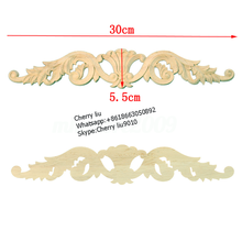 decorative antique wood carved furniture parts appliques and onlays