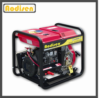 china manufactured portable powerful single cylinder diesel generator with remote start
