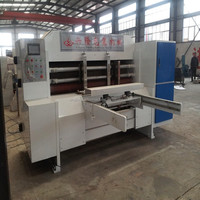 Full Automatic rotary die cutter/carton box packing machine