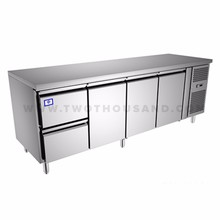 Hot Sale Commercial Chiller Undercounter Food Pre Refrigerated Table