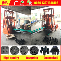 Professional indonesian/indonesia cooking coal briquette pressing machine