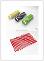 HOT SELLING MASSAGE MAT, EZ CARRY FOR OUTDOORS, GREEN PLASTIC SPIKES, GIVE YOUR BODY A NICE RELEASE! WITH PILLOW
