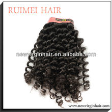 AAAAA quality unprocessed model model hair extension wholesale