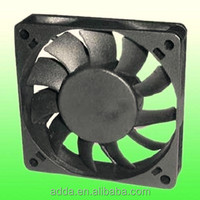 ADDA 12 volt brushless dc cooling fan 70x70x15mm dc axial 12v ip65 deutz auto cooling cooler fan motor