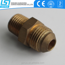 Taper connection hose hydraulic brass extension nipple