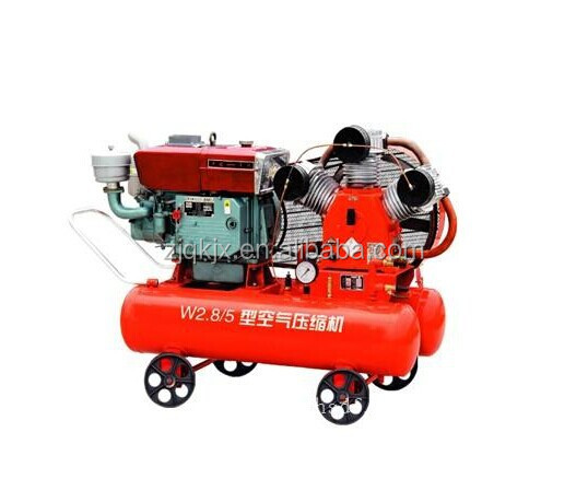 70cfm 100cfm 150cfm diesel mobile air compressor with low price