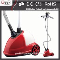 220 v 1500 w vertical metal hand electric garment steamer with steam iron brush