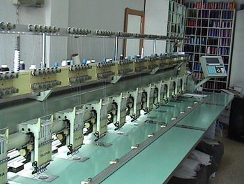 TAJIMA TMEG-G615 EMBROIDERY MACHINE