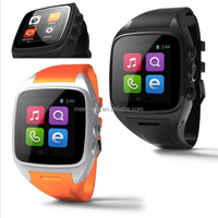 Android 4.0 Bluetooth smart watch phone with wifi GPS 3G Sim card support,sleep monitor