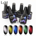 ibdgel 48 Colors 3d Cat eyes Magnetic gel Polish For Nail