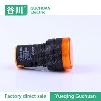 22mm Size Pure White Color Power Light Good Quality Indicator Lamp ...