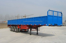 Brand new 3 Axles highbed semi-trailer/truck trailer/remorque for selling with low price