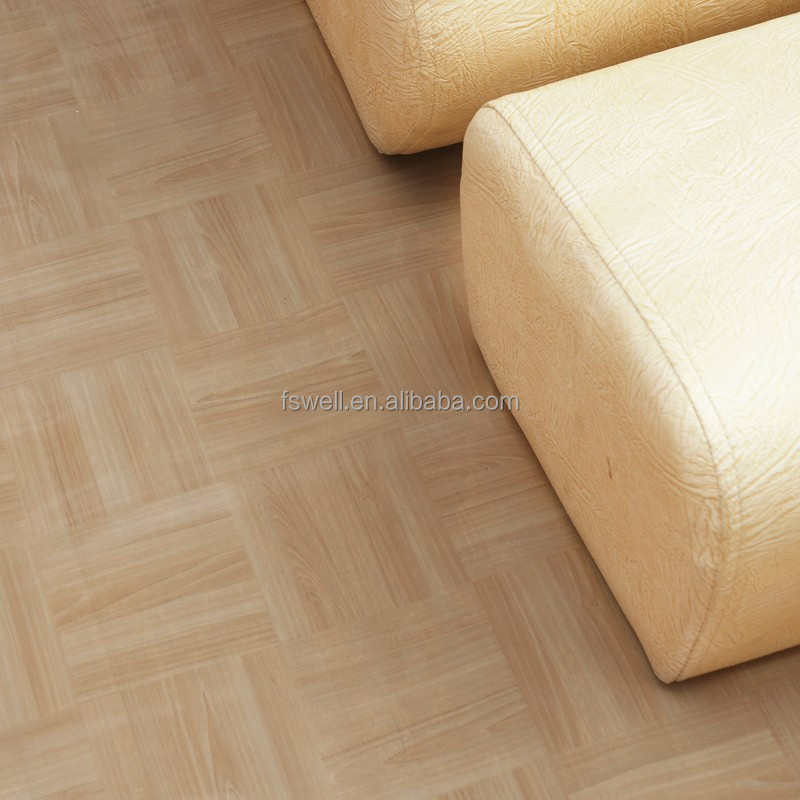 Pvc floor covering vinyl rolls for indoor usage natural for Vinyl floor covering