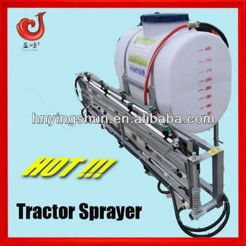 3 point linkage mounted 800l agricultural tractor boom sprayer