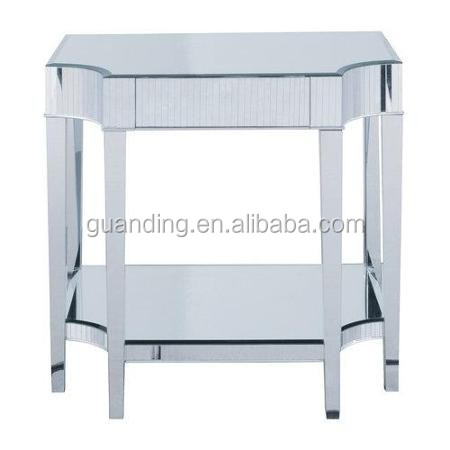 Modern new product fancy contemporary console/coffe/ steering table in clear finish