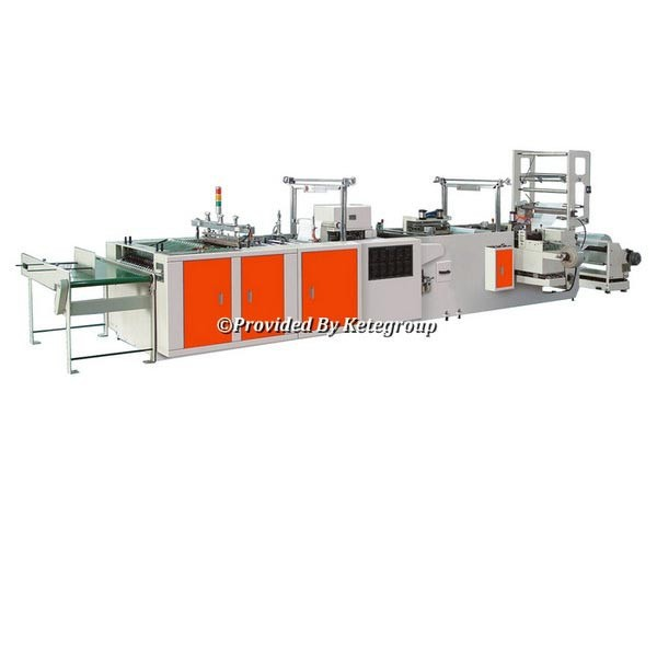 Full Automatic High Speed Cloth Packing Bag Making Machine