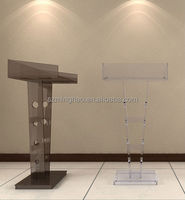 Floor Standing Acrylic Pulpit / Church Podium / Acrylic Lectern