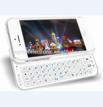 Keyboard Case Cover Sliding Bluetooth Wireless keyboard for iPhone5