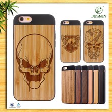 China supplier ECO-friendly natural wood mobile phone housing for iPhone 6 case