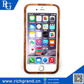 Hot china products wholesale natural wood grain case For iPhone5 6/6S 6plus
