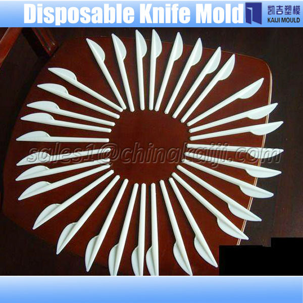 disposable plastic dinner knife mould maker