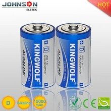 Factory price Long shelf life super alkaline 3.6v lithium battery size d
