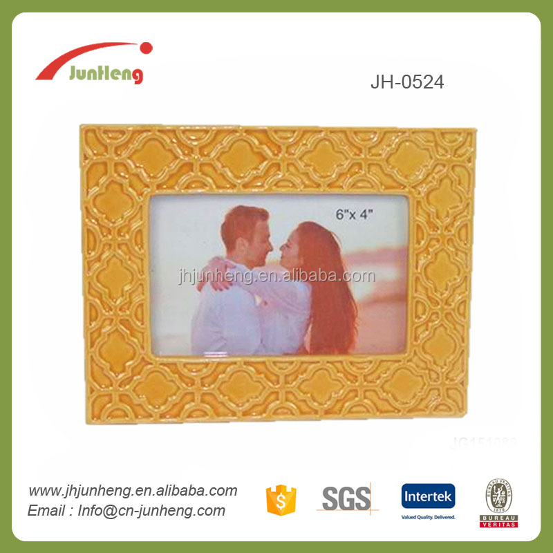 home decoration ceramic waterproof outdoor picture frames, decorating empty picture frames, optical frames wholesale