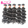 Superior Quality Brazilian Natural Hair Weavon,Unprocessed Wholesale Full Cuticle Natural Remy Extensions Hair